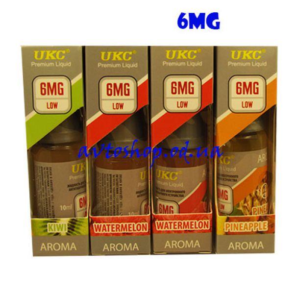 Жидкость для электронных сигарет UKC Aroma 6mg никотина