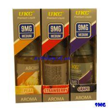 Жидкость для электронных сигарет UKC Aroma 9mg никотина