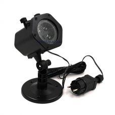 Диско-лазер LASER Shower Light XL-805 с заменяемыми картами рисунками