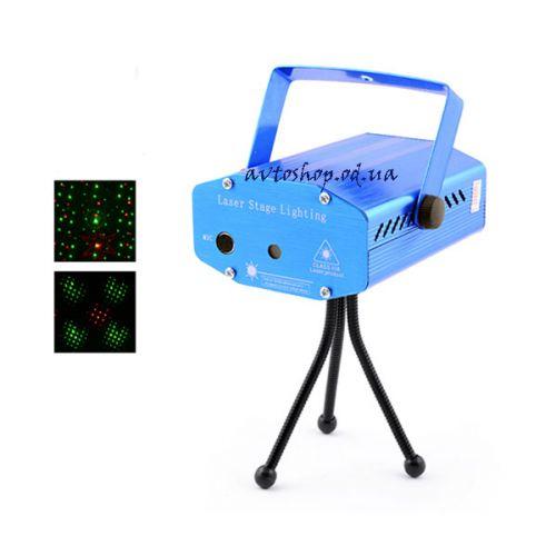 Лазерный проектор точечный диско Laser W-001