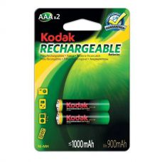 Аккумуляторы Kodak - Rechargeable Battery AAA HR03 Ni-MH 1000mAh 1.2V