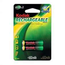 Аккумуляторы Kodak - Rechargeable Battery AAA HR03 Ni-MH 650mAh 1.2V