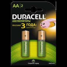 Аккумуляторы Duracell Basic Recharge АА HR6 Ni-MH 1300mAh 1.2V