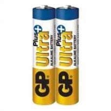 Батарейка GP Ultra Plus Alkaline 24AUP-S2, LR03, ААА, 1.5V