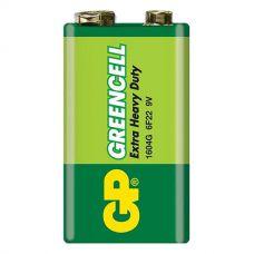Батарейки GP - Greencell 6F22 Крона 9V