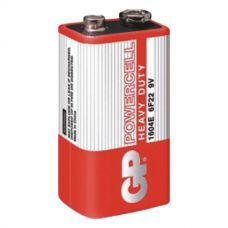 Батарейки GP - Powercell 6F22 Крона 9V