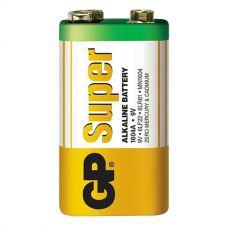 Батарейки GP - Super Alkaline 6LR61 / 6LF22 Крона 9V 10шт.