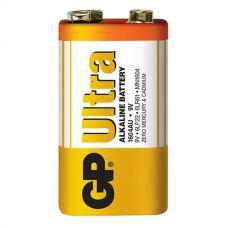 Батарейки GP - Ultra Alkaline 6LR61 / 6LF22 Крона 9V