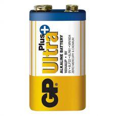 Батарейки GP - Ultra Plus Alkaline 6LR61 / 6LF22 Крона 9V