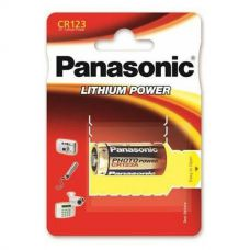 Батарейки Panasonic CR123 - Lithium Power