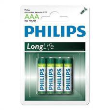 Батарейки Philips - Longlife ААА R03 1.5V