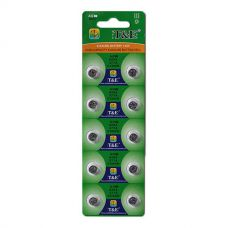 Батарейки T&E - Alkaline Battery AG10 LR1130 1.55V