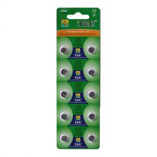 Батарейки T&E - Alkaline Battery AG13 LR44 1.55V