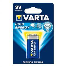 Батарейки Varta - High Energy 6LR61 Крона 9V