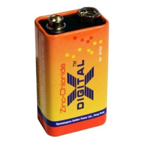 Батарейки X-digital - Zinc Chloride 6F22 Крона 9V
