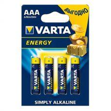 VARTA AAA LR-03 Energy 4бл