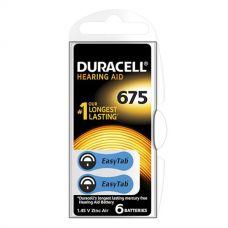 Воздушно цинковые батарейки 675 - duracell hearing aid 6/60/600шт