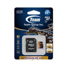 Карта памяти Team 64Gb microSDXC class 10