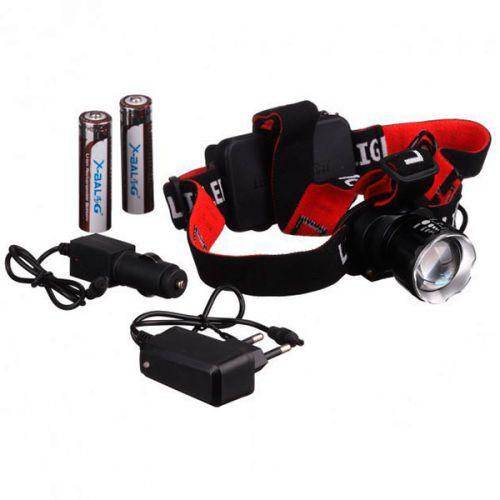 Фонарь налобный, аккумуляторный, BL-T20 - P90