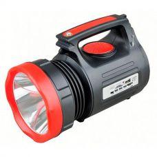 Фонарь прожектор Yajia YJ-2890 10W фонарик с радио и Power bank