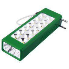 Фонарь LUXURY 1018 W, 1W+14LED