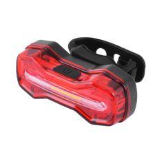 Фонарь велосипедный DMFL-526 (белый+красный+синий), аккум Li-ion, ЗУ micro USB, waterproof, индикация заряда