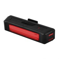 Фонарь велосипедный RPL-2261-COB (красный) аккум, ЗУ micro USB