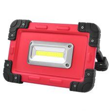 Прожектор светодиодный W822-30W-COB, 4x18650, ЗУ micro USB, Power Bank