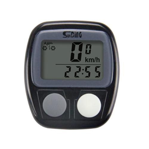 Велокомпьютер SD-536B, waterproof, 14 функций (блистер)