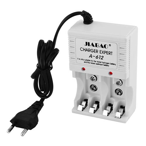 Зарядное устройство JB A-612,4хAA/AAA,9V
