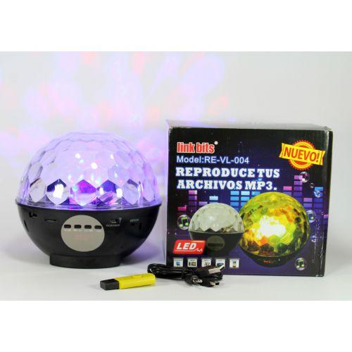 Диско лампа с аккумулятором и USB проигрывателем Ball 2015-3