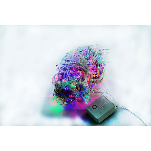 Светодиодная гирлянда 200Led RGB на прозрачном проводе