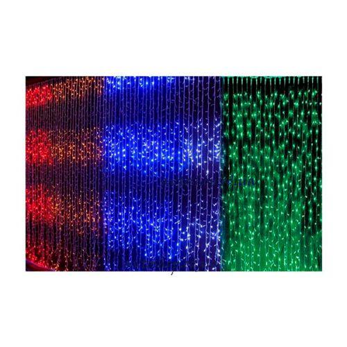 Гирлянда Водопад прозрачный провод 3,0мХ2,2м 480LED