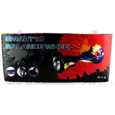 """Гироборд 11"""" №3 Цвет Молния белая BT + APP + Автобаланс с АКБ Samsung"""
