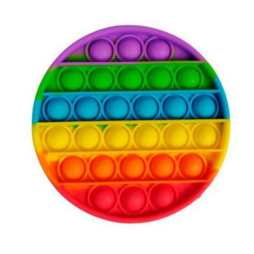 Мягкая игрушка разноцветная Поп ит Бесконечная пупырка антистресс Pop It
