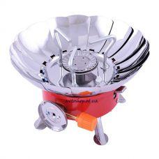 Портативная газовая плита с пьезоподжигом №k-203