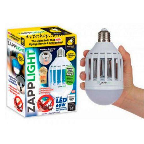 Светодиодная лампа приманка для насекомых Zapp Light