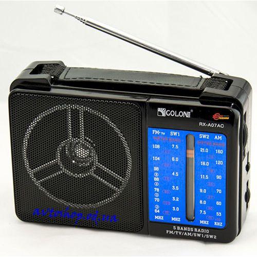Радиоприёмник GOLON RX A07