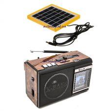 Радиоприемник Golon RX-081 с солнечной панелью