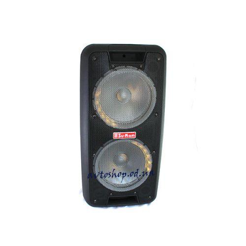 Портативная колонка UBL 1010 + 2 mic Bluetooth