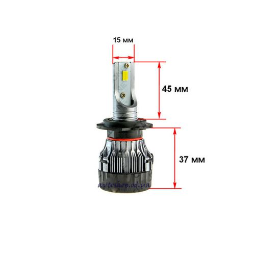 Led лампа Cyclone H7 5000K 5000LM TYPE 19