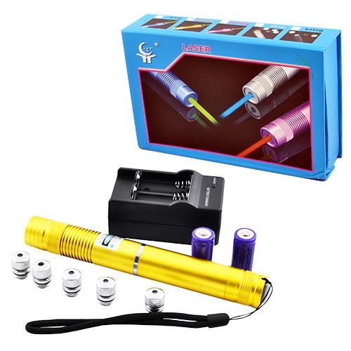 Фонарь-лазер синий YX-B008-3000