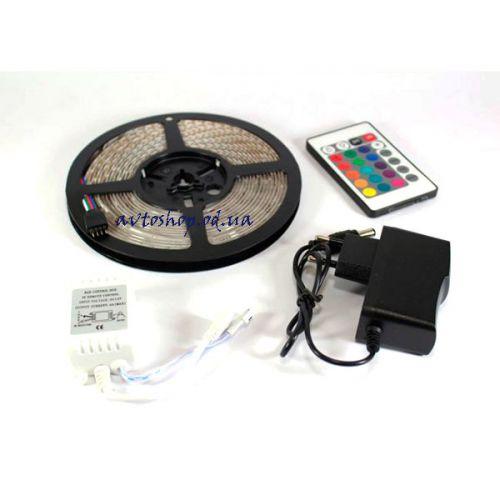 Светодиодная лента RGB 3528 комплект 60шт/м (цена за 5 метров)
