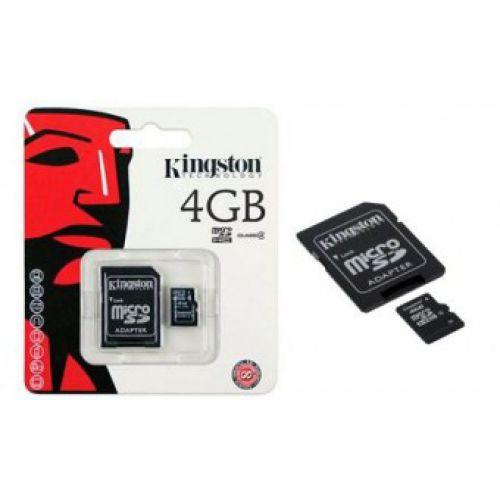 Карта памяти MicroSD 4Gb Kingston