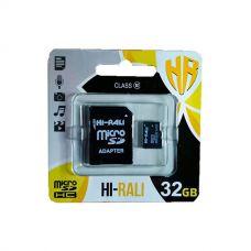 Карта памяти microSD 32Gb Class10, HI-RALI