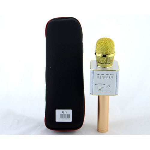 Беспроводной караоке микрофон Q9 + чехол