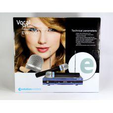 Микрофон Беспроводной DM EW 100 / база + 2 радиомикрофона
