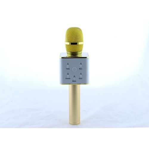 Микрофон DM Karaoke Q7 GOLD + чехол