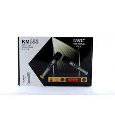 Микрофон DM UKC-688 / профессиональная радио система с двумя беспроводными микрофонами