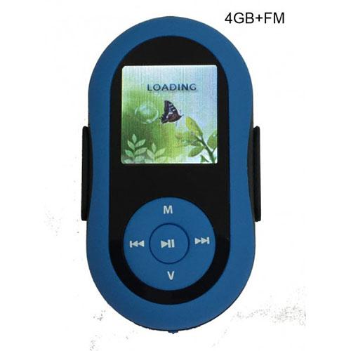 MP4 плеер 732 FM 4GB Blue